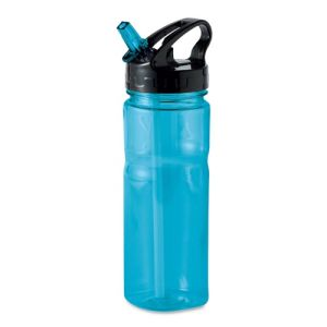 Printed sports bottle for fitness merchandise