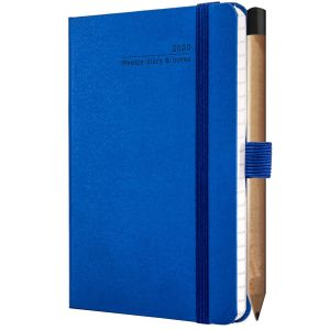 Promotional journal for company desks in china blue