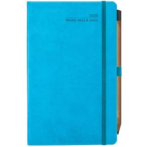 Promotional week to view diary for company gifts colours in Bright Blue
