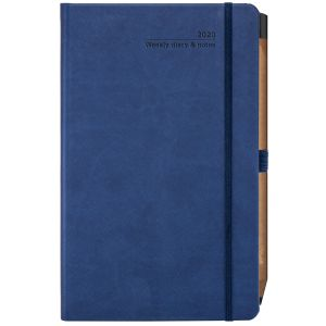 Branded journal for council merchandise ideas in China Blue
