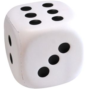 Stress Dice in White