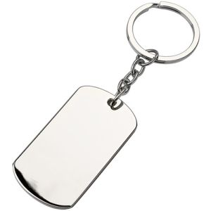 Engraved ID Dog Tag Keyring business gifts