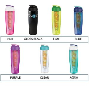 Custom printed water bottles for gym merchandise colours