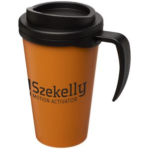 Promotional Americano Grande Thermal Mugs with artwork