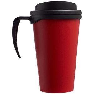 Americano Grande Thermal Mugs in Red