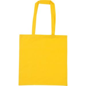 Snowdown Cotton Tote Bags in Yellow