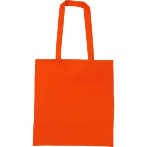 Snowdown Cotton Tote Bags in Orange