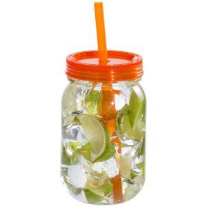750ml Plastic Jar Tumblers