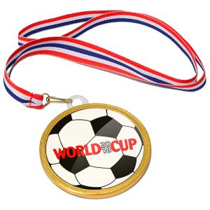 75mm Chocolate Football Medals