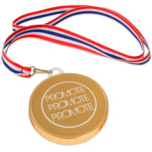 75mm Chocolate Medals