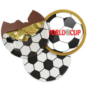 75mm Football Chocolate Coins