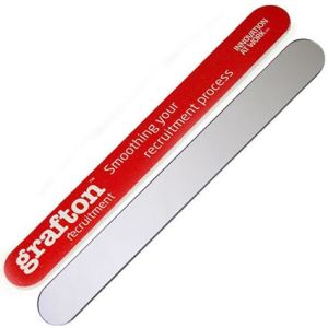 "These promotional 7"" mirror nail files will be printed in full colour with your artwork."