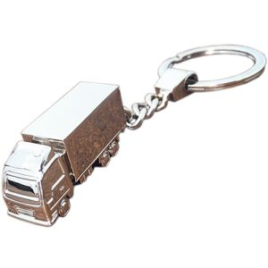 Company branded Truck Keyring for delivery companies