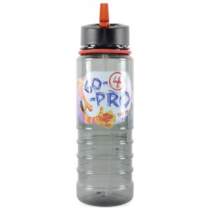 Promotional water bottles branded with corporate designs