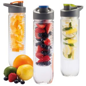 800ml Tritan Fruit Infuser Bottles