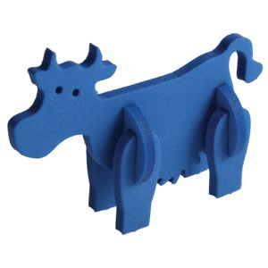 Foam Animal Puzzles in Blue