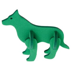 Foam Animal Puzzles in Green