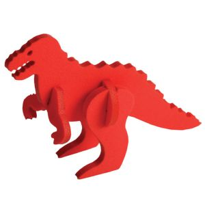 Foam Animal Puzzles in Red