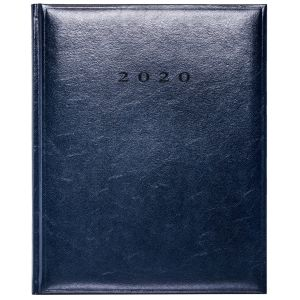 Branded Colombia Quarto Weekly Diaries for company merchandise in Blue