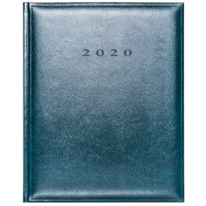 Promo journal for luxury marketing products in Green