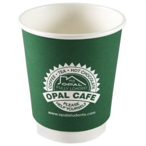 Printed paper cups for event merchandise