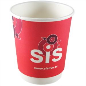 Custom printed paper cups for outdoor events