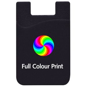 Full Colour Printed Sticky Phone Card Wallets
