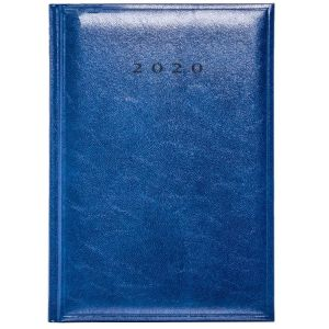 Foil Blocked A5 Daily Colombia Diary in China Blue from Total Merchandise