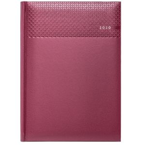 Custom branded journal for office merchandise in Burgundy