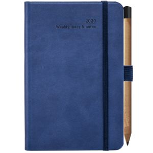 Corporate branded journal for office merchandise in China Blue