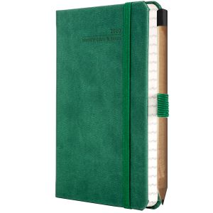 Promotional journals for luxury business gifts Forest Green