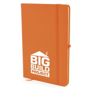 Custom printed A5 notebooks as practical promotional gifts