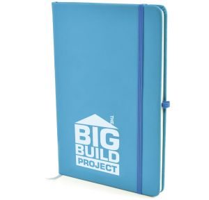 Branded A5 Soft Touch PU Notebooks for offices