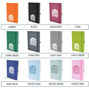 Branded business gift notebooks for merchandise ideas
