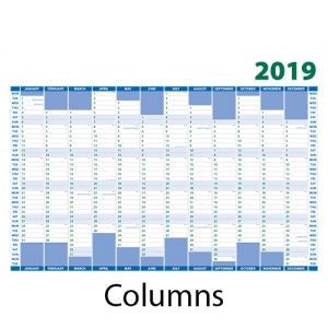 Promotional A2 Wall Planners for offices