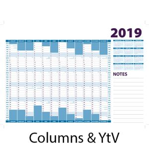 Corporate A3 Wall Planners for offices