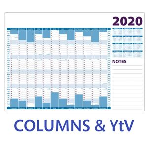 Corporate A3 Wall Planners for the office