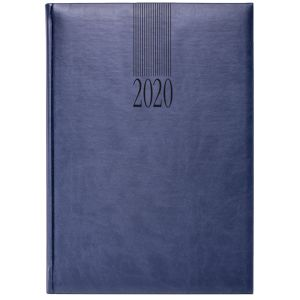 A4 Tucson Daily Diary in Navy