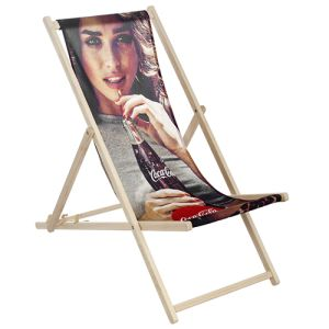 Our printed deck chairs are ideal for use in gardens or at industry events & exhibitions