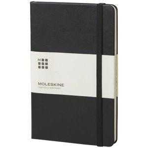 Large Moleskine Hardback Ruled Notebook in Black