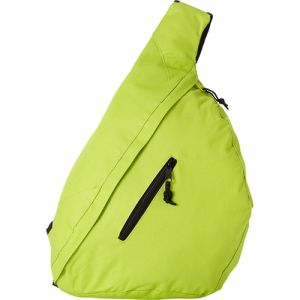 Triangle City Bag in Lime