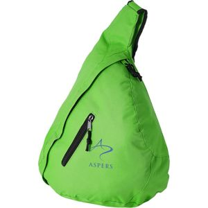 Triangle City Bag in Bright Green
