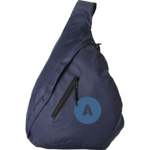 Triangle City Bag in Navy