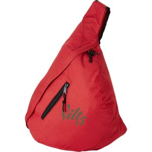 Triangle City Bag in Red