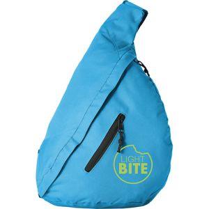 Triangle City Bag in Aqua Blue