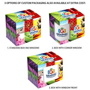 Promotional Mug Packaging in Full Colour for Business Gifts