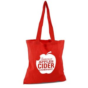 Express Brixton Eco Shopper Bags in Red