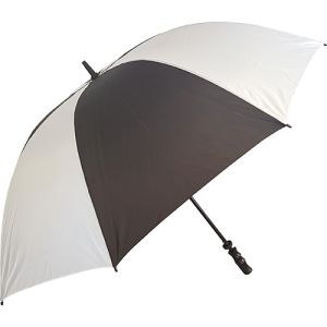 Value Fibrestorm Golf Umbrella in Black/White