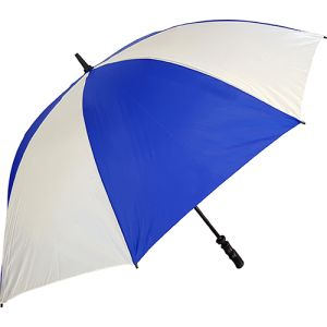 Value Fibrestorm Golf Umbrella in Royal Blue/White