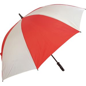 Value Fibrestorm Golf Umbrella in Red/White
